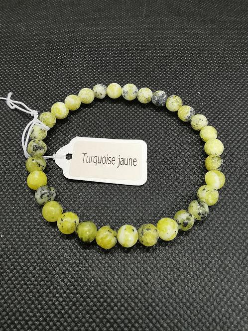 Bracelet Turquoise jaune