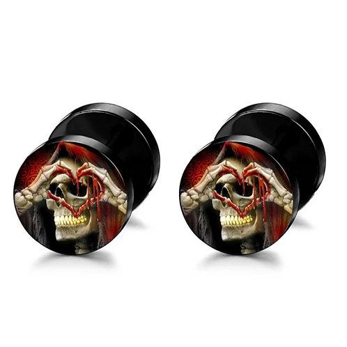 Boucles d'oreilles à vis