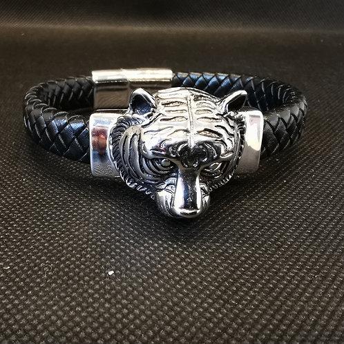 Bracelet homme tête de tigre