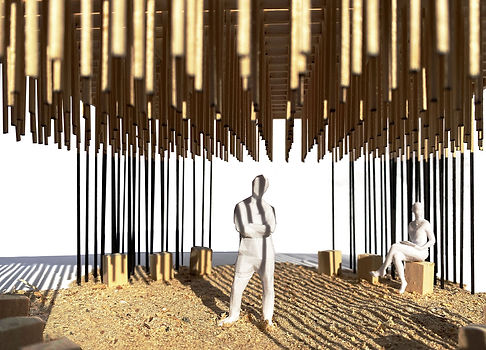 Second Life Pavilion study model