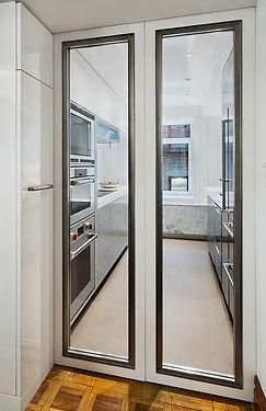 East 88th modern kitchen doors