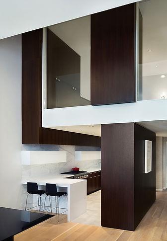 Manhattan Triplex modern kitchen loft