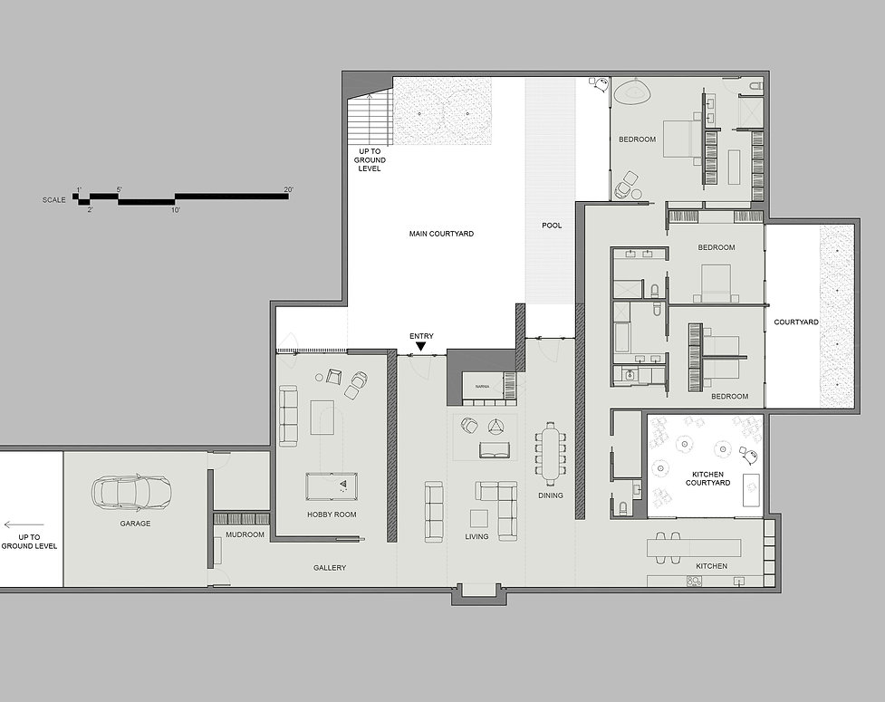 Introverted House Plan