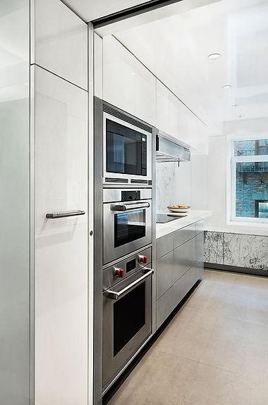 East 88th modern kitchen