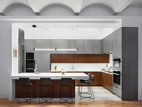 Murray Street modern kitchen