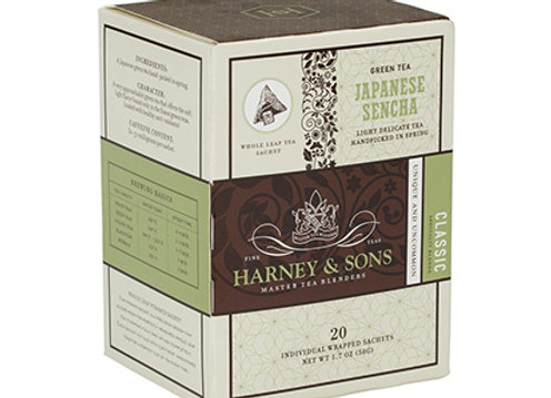 HARNEY & SONS Green Japanese Sencha Sachets
