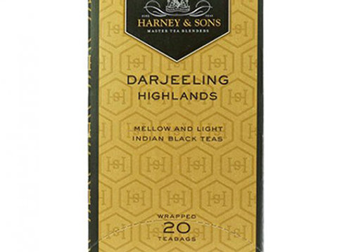 HARNEY & SONS Black Darjeelings Highlands Tea