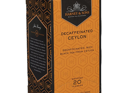 HARNEY & SONS Decaf Black Decaf Ceylon Tea