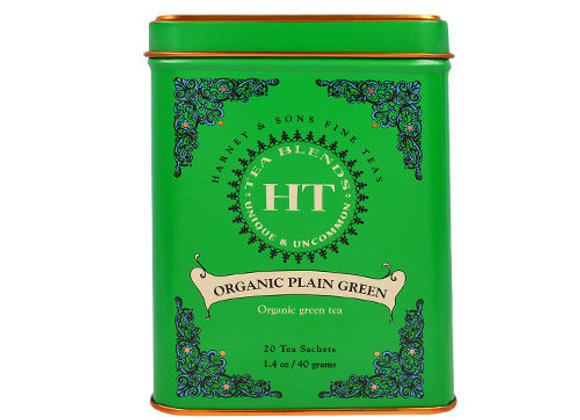 HARNEY & SONS Organic Plain Green Tea Sachets
