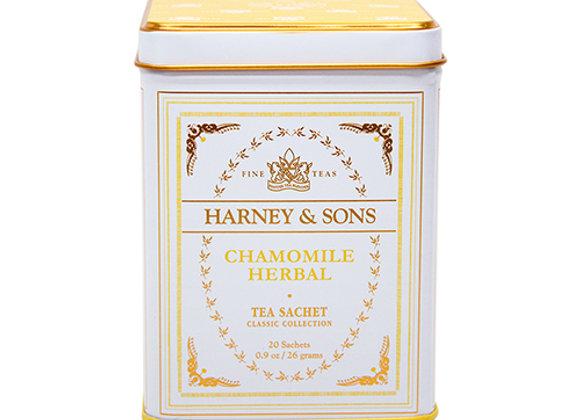 HARNEY & SONS Caffeine-Free Herbal Chamomile Classic Tea Sachets