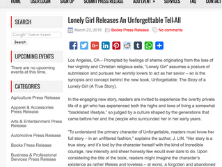 In the News: Lonely Girl Releases an Unforgettable Tell-All