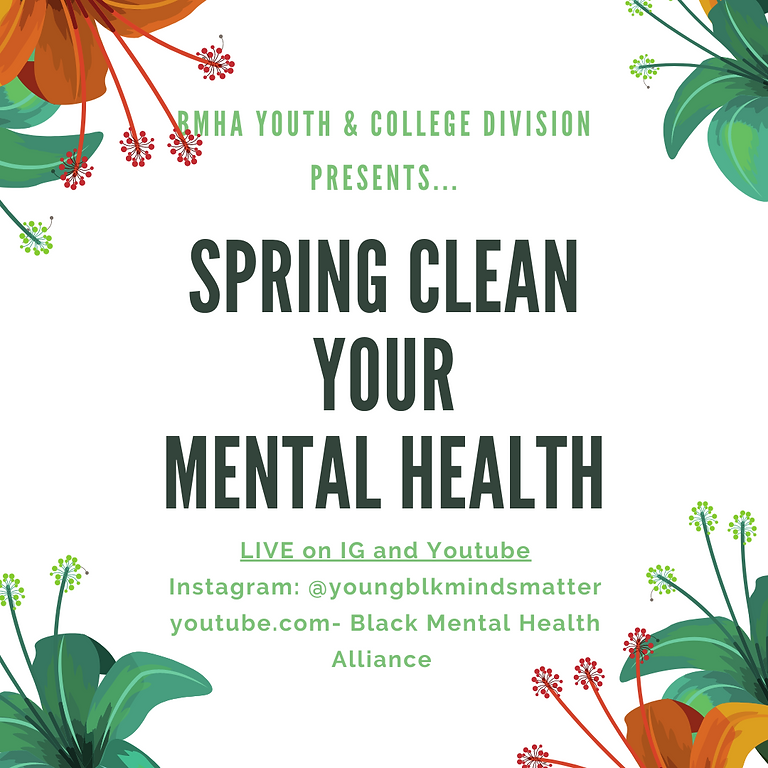 Spring Clean Your Mental Health!