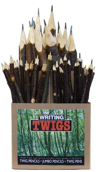 Twig pencils and pens