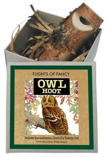 Boxed Owl Whistles
