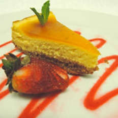 PASSION FRUIT CHEESECAKE