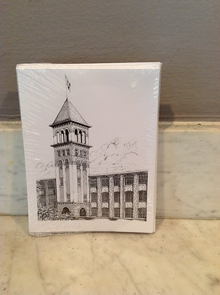 Mill Tower by Reid Baker Notecards