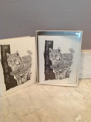 Bobcat Ink Notecards