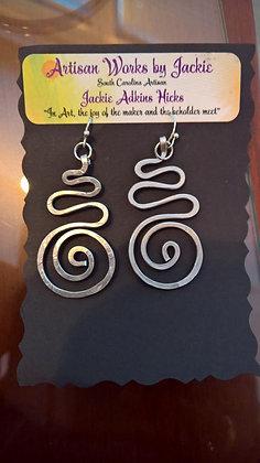 Earrings by Jackie Hicks