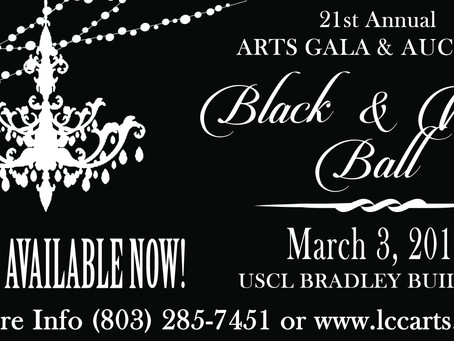 Lancaster County Council of the Arts presents ' Black & White' Ball GALA