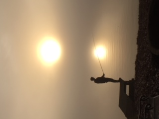 Sun Rise at the River- David Platts 3rd