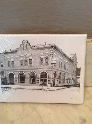 The Bank of Lancaster by Reid Baker Notecards