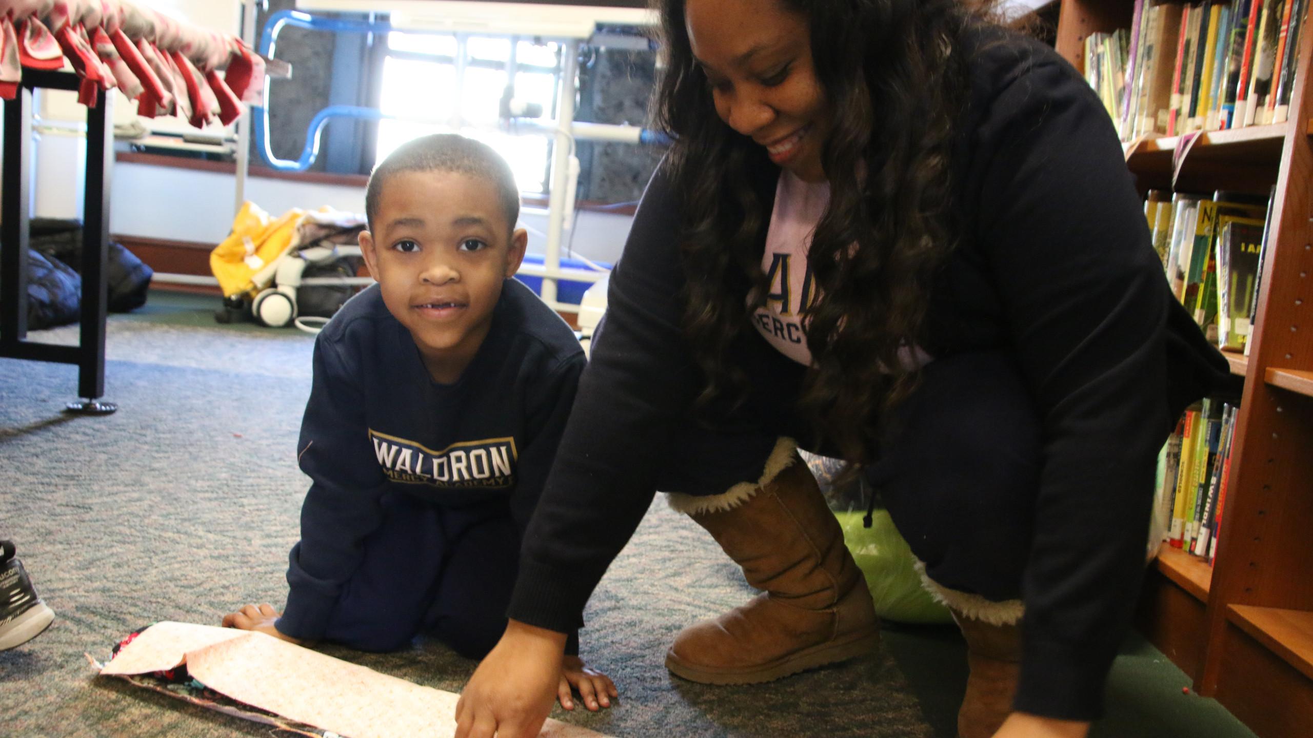 Waldron Mercy Academy hosts MLK Day of Service.