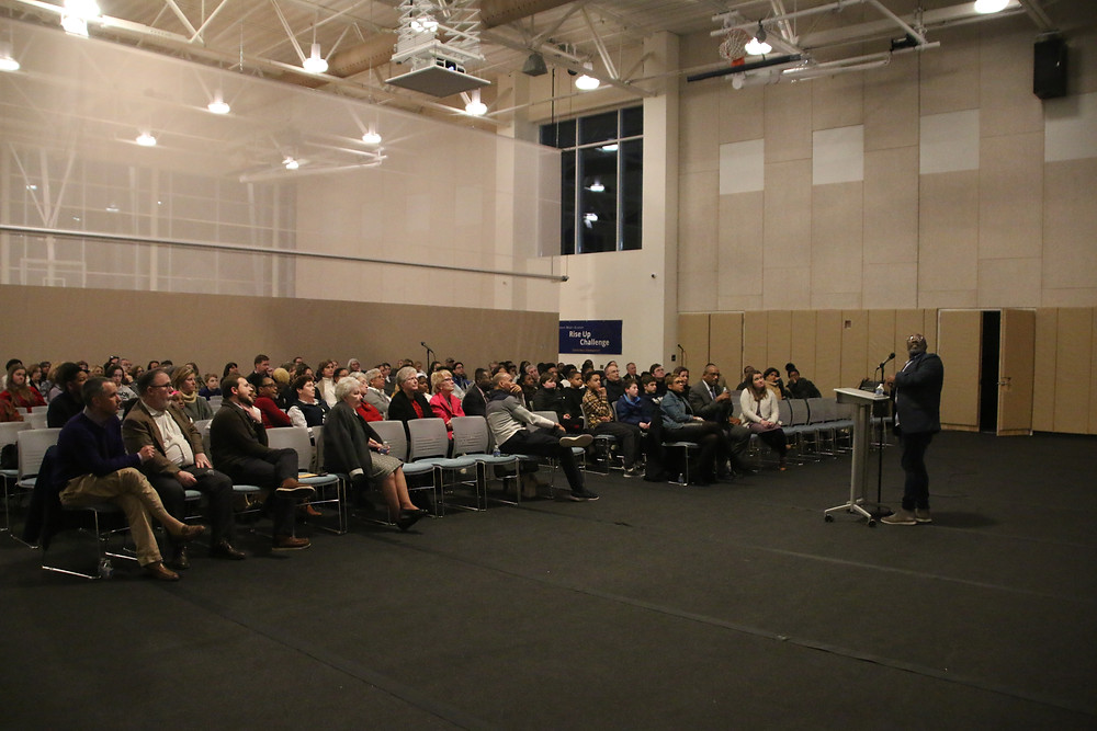 Waldron Mercy Academy hosts diversity event.