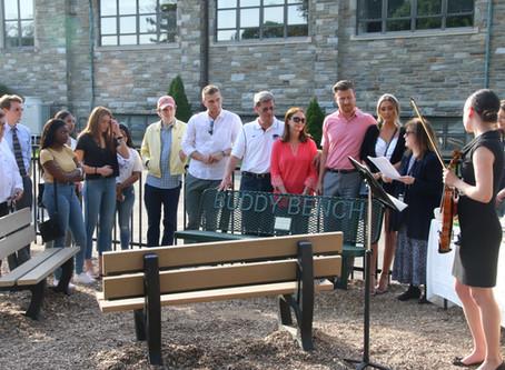 Bench Dedicated in Memory of Mark Dombroski