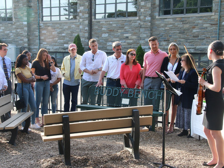 Bench Dedicated in Memory of Mark Dombroski