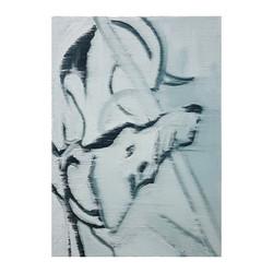 מתן אורן כלב, שמן על בד, 25X35 ס_מ, 2020