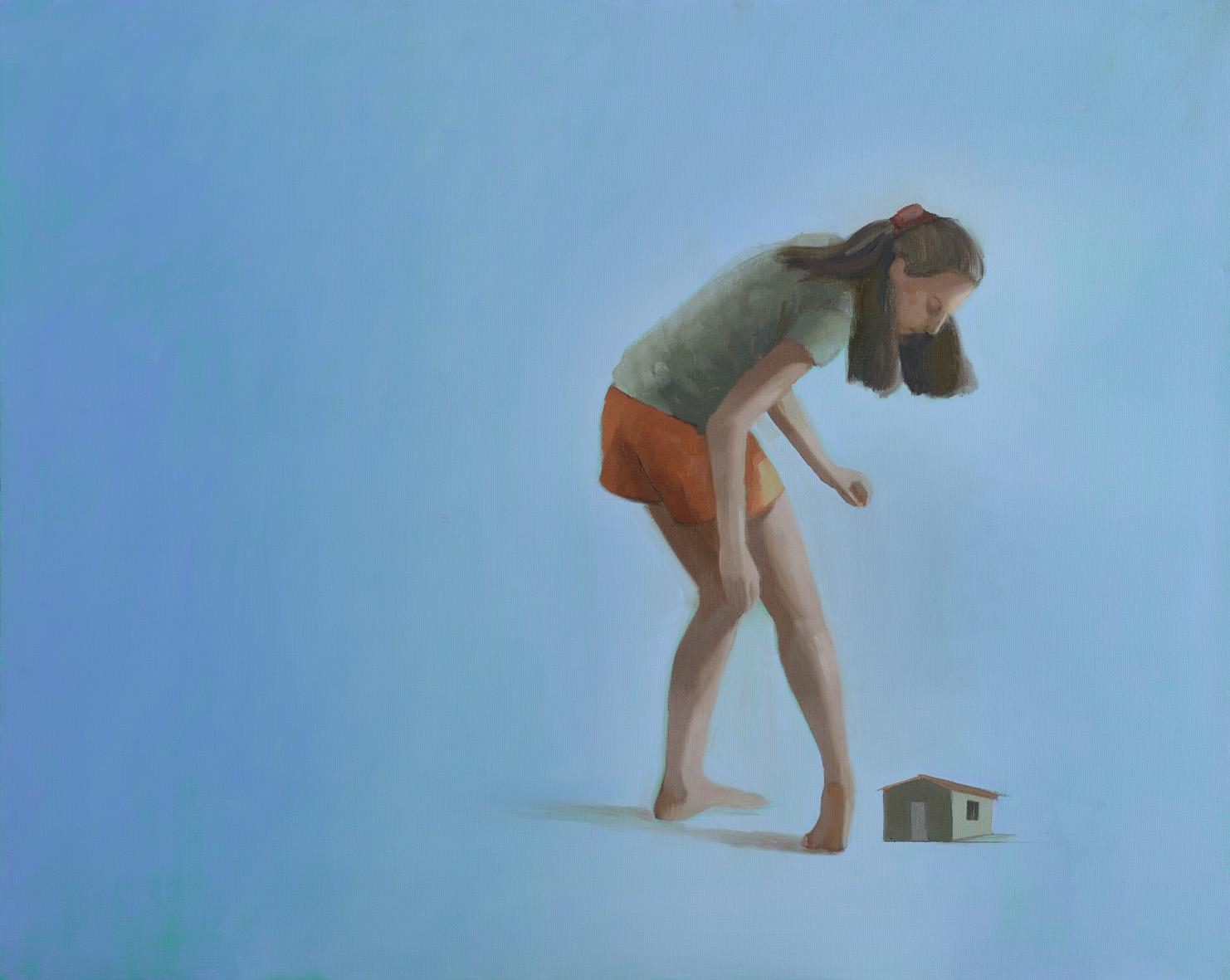 oil on canvas 100x80cm. 2015