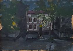 רחוב לורנס, שמן על נייר (3) (1)