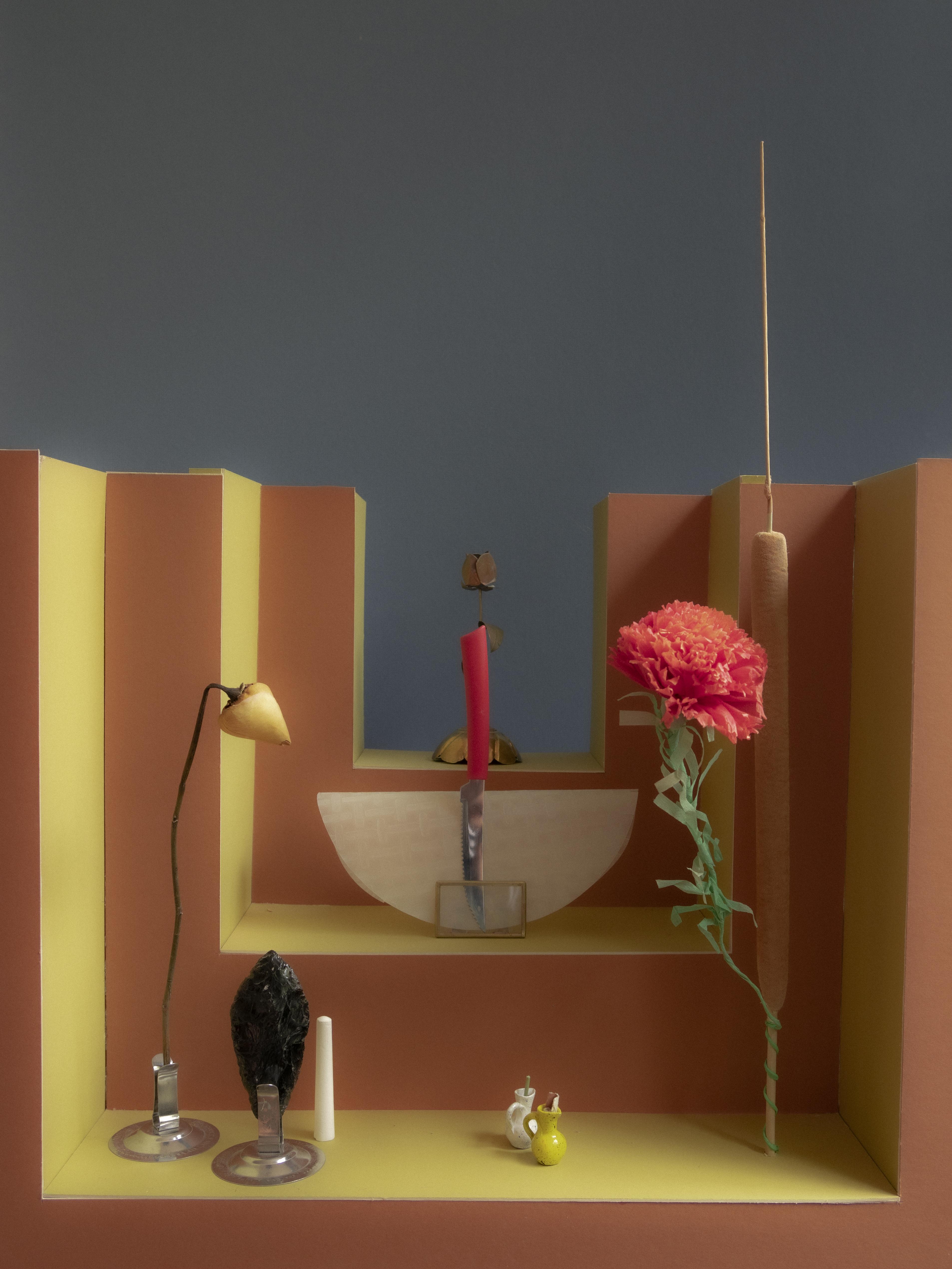 רוני עמיאל, הדפסת דיו פיגמנטית, 2018,
