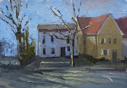 רחוב לורנס, שמן על נייר (5)