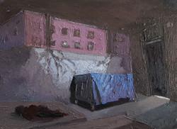 רחוב לורנס,שמן על בד 80-80סמ (2)