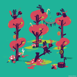 1_noam marzook_Mushroom party_40X40