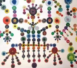 גרא דוידי, פרט, צבעי מים על נייר