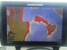 Humminbird Helix - Adjusting Depth Contour Colors