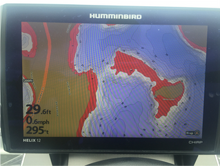 Humminbird Helix - Adjusting Depth Contour Colors