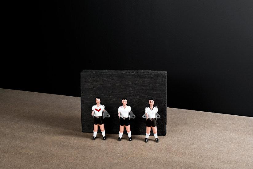 PATERE BABY FOOT - ensemble de 3 pièces / Rafael Rodriguez