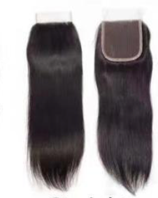 Transparent 4 by 4 Closure- Straight