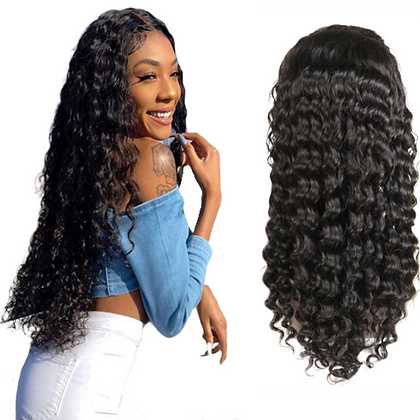 """""""Carra"""" Deep Curly - Lacefront Wig"""