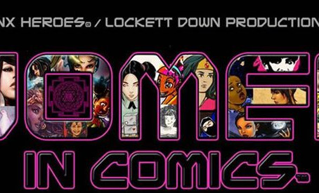 """Women In Comics"" panel from Enigma Events' ""First Con-Tact Creator Convention, 2"
