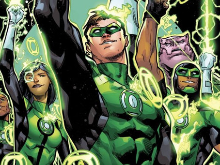 Foxy Joins DCTV Podcasts for the new 'Green Lantern Podcast'