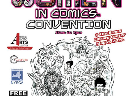 Women in Comics Con @Bronx Heroes Comic Con 7: Updates and Info!!!