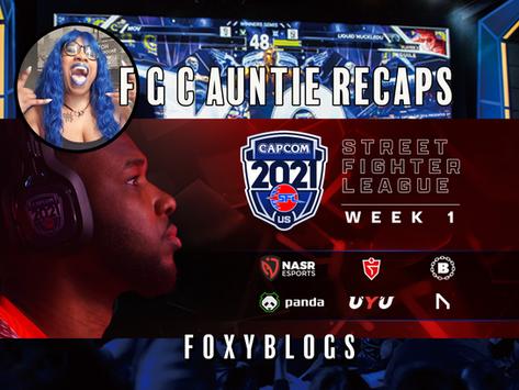 FGC AUNTIE RECAPS: Street Fighter League US Pro S4W1