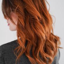 Exemple de coloration roux