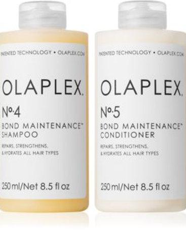 Olaplex n°4 et n°5