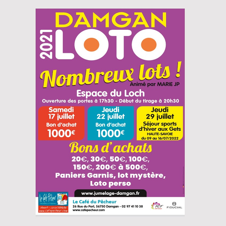 Lotos à Damgan avec le Comité de Jumelage