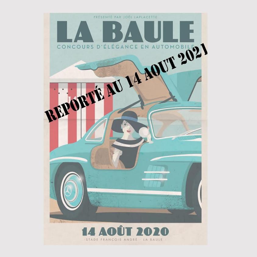Concours d'élégance en automobile de La Baule 2021